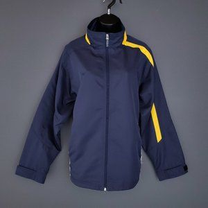 NWOT KOBE Windbreaker Spring Jacket Zip Navy XL
